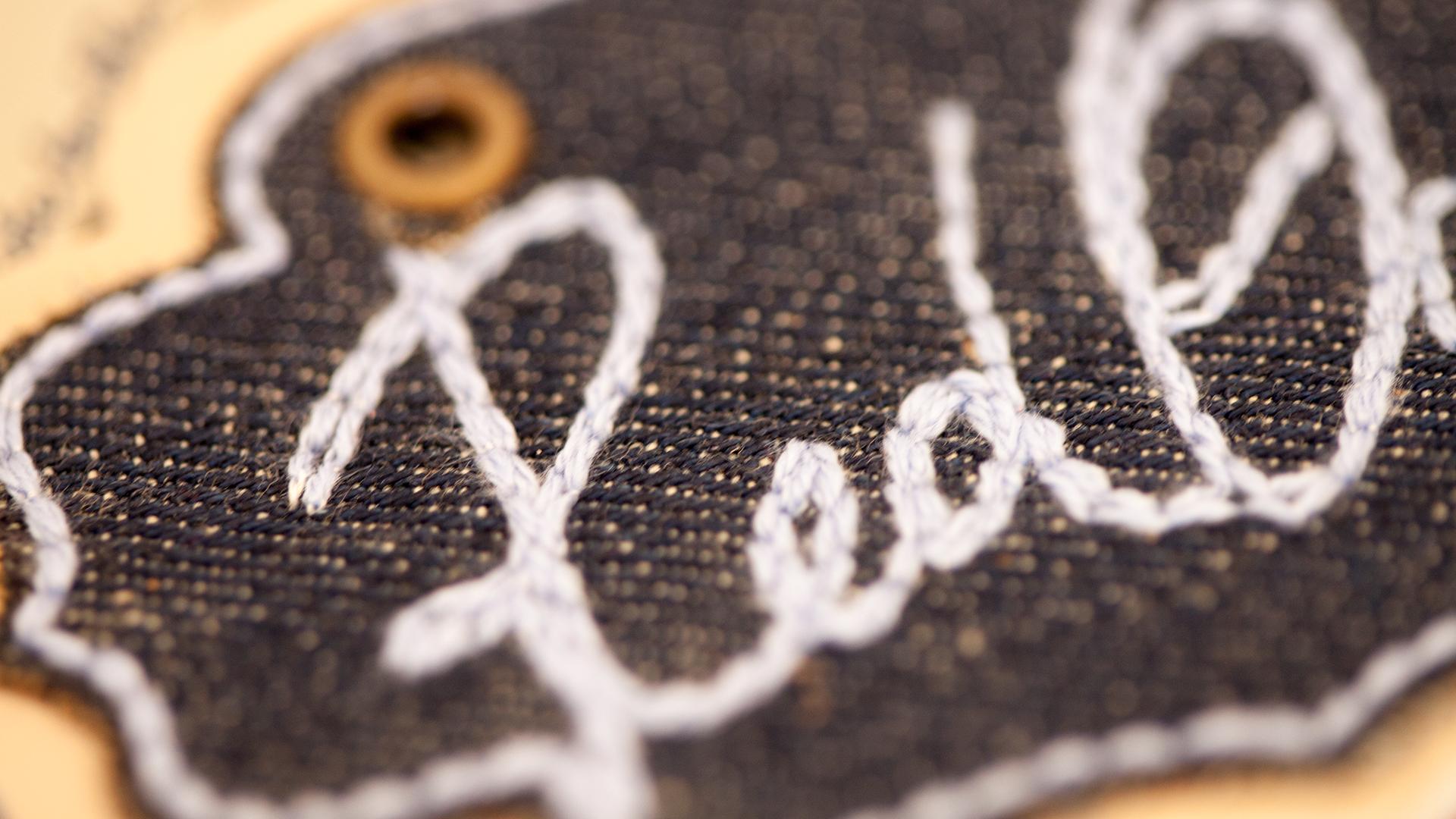 Etiqueta de cuero, jackron y especiales